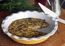 Frittata s houbami shiitake a koprem