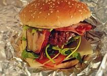 Hamburger - když nevím co k večeři