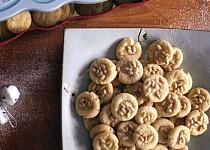 Italské marcipánové sušenky Pignoli
