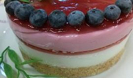 Jogurtovo-tvarohový, nepečený