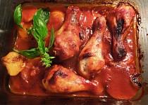 Kuře na česneku se skořicí