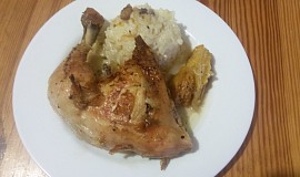 Kuře s pomerančovou vůní