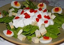 Mangoldový salát s tofu