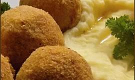 Masové kuličky v polentové krustě