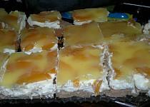 Ovocný dortík na plech