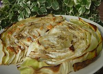 Pečené česnekové zelí