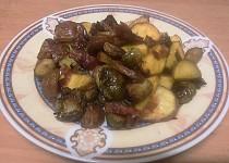Pečené kapustičky s bramborem