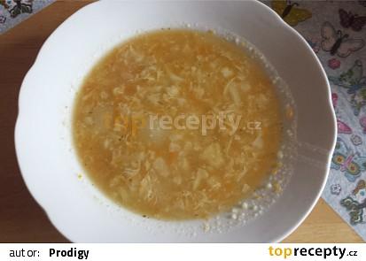 Rodinná květáková polévka