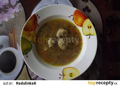 Rychlá polévka s hlívou a drožďovými knedlíčky