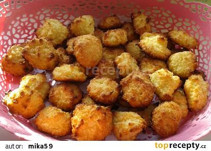Rychlé kokosky z tvarohu