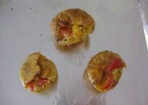 Snídaňové muffinky (omeletové vaječné)
