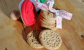 Sušenky s limetkou a vanilkou