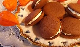 Sušenky se šlehačkou