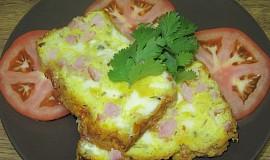Sýrovo-šunkový biskupský chlebíček