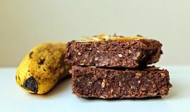 Vegan fazolové brownies s arašídovým máslem