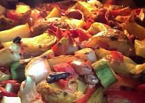 Zapečené brambory na mexický způsob