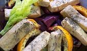 Zapékaná zelenina s tofu
