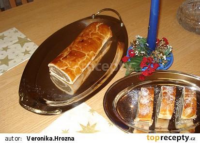 Bratislavské   rohlíčky +  Vánoční záviny z toho samého těsta