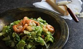 Caesar salát ( s krevetami )