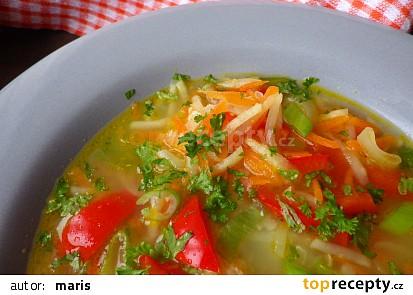 Celerovo - papriková polévka snadno a rychle