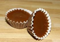 Čokoládky v košíčku s rumovou náplní