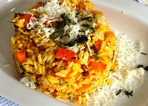 Dýně s rýží