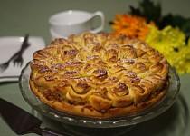 """Jablečný koláč """"Chryzantéma"""""""