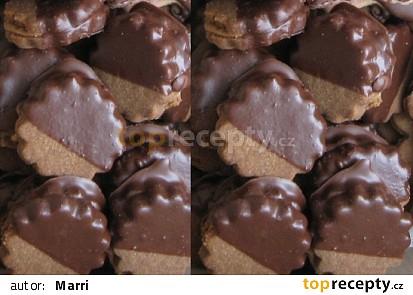 Kakaová kolečka s arašídovým máslem