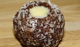 Kokosová očka s bílou čokoládou
