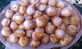 Koláčky tvarohové, makové, ořechové