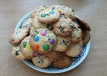 Křehké americké cookies