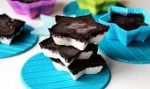 Ledové kokosky s čokoládou