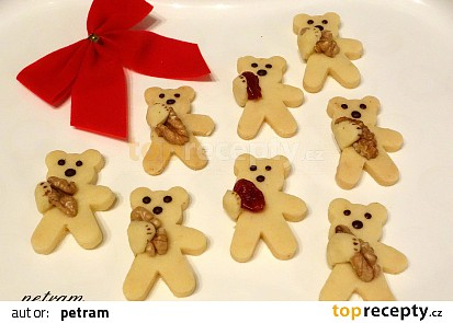 Medvídci s plnou náručí bez lepku, mléka a vajec