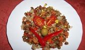 Novoroční čočkový salát s Moravankou