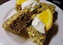 Ovesný mug cake s citronem a mákem