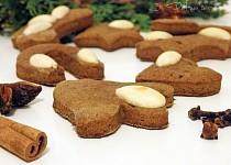 Perníčky nejen na Vánoce (bez rafinovaného cukru, vhodné pro vegany)