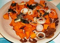 Salát z pečené dýně