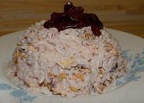 Sladká rýže se sušeným ovocem