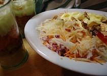 Sladkokyselý vitaminový salát