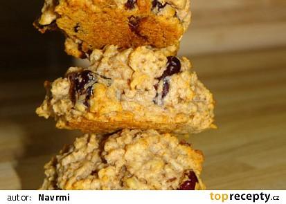 Sušenky se sušeným ovocem