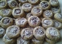 Vánoční oříškové koláčky, nejen pro Maju V