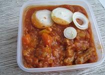 Vepřový rajčatový guláš