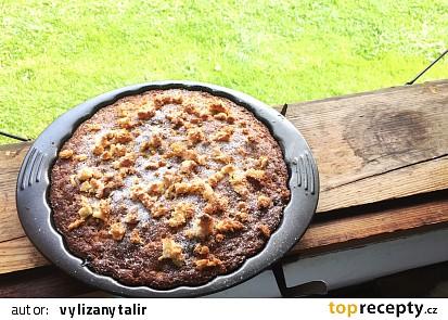 Bezlepkový rybízový koláč s kokosem