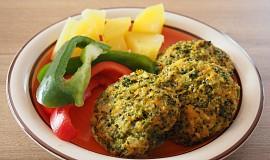 Brokolicové karbanátky - pečené