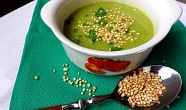 Brokolicový krém s quinoa