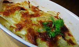 Fenykl zapečený s mozzarellou a semínky