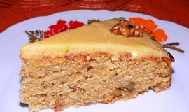 Jablkový koláč s javorovým sirupem