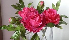 Jedlé květy z fondantu
