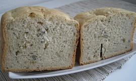 Kmínový obyčejný chléb z domácí pekárny