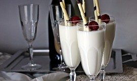 Krém z bílé čokolády a jogurtu